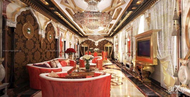 Арабский стиль: интерьер, квартира, дом, восточный, марокканский стиль, 50 - 80 м2, студия #interiordesign #apartment #house #moroccan #50_80m2 #studio #atelier arXip.com