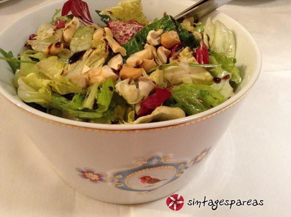 Σαλάτα πράσινη με balsamico #sintagespareas #salataprasini