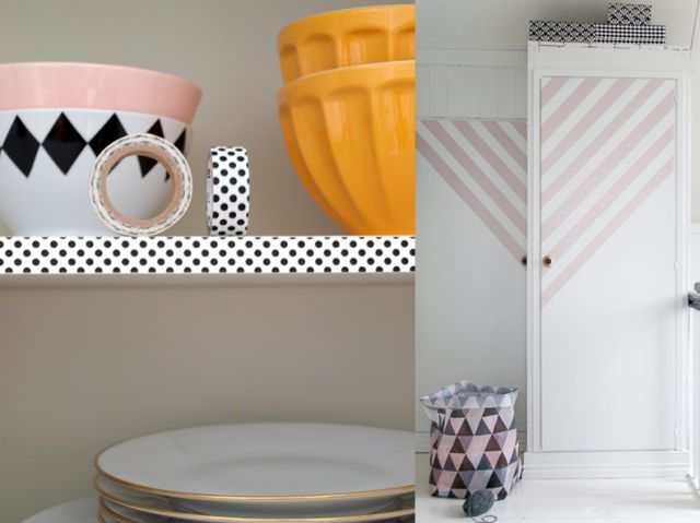 20 idées déco DIY avec du masking tape | Joli Place