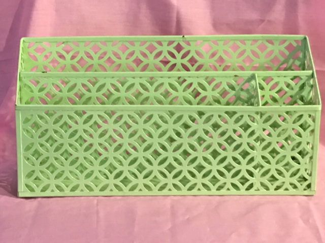 Excited to share the latest addition to my #etsy shop: Vintage multi section metal stationary holder http://etsy.me/2EbE1jf #housewares #office #stationary #storage #vintage #divider #deskaccessory #gemsandmems