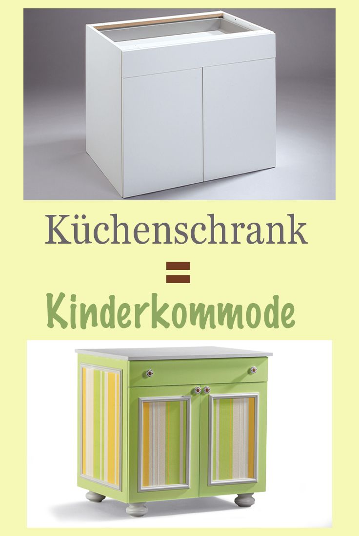 bunte kinderkommode mit zierleisten m bel holz pinterest zierleisten m bel holz und. Black Bedroom Furniture Sets. Home Design Ideas