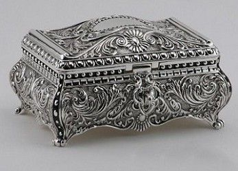 167 best Silver box images on Pinterest Antique silver Trinket