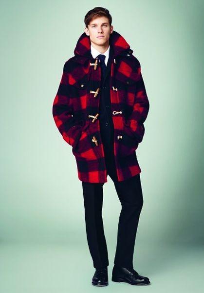 Mens Designer Duffle Coats | Down Coat