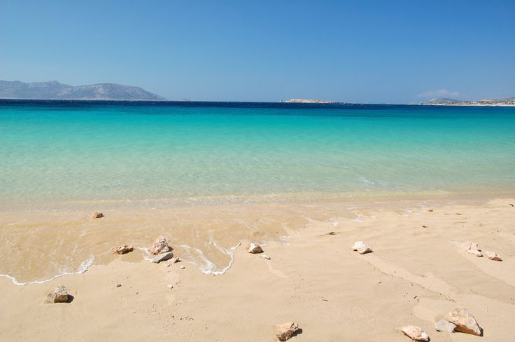 Italida beach in Koufonissi (Small Cyclades)