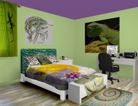 Pastel bedroom pastel colors and lizards on pinterest