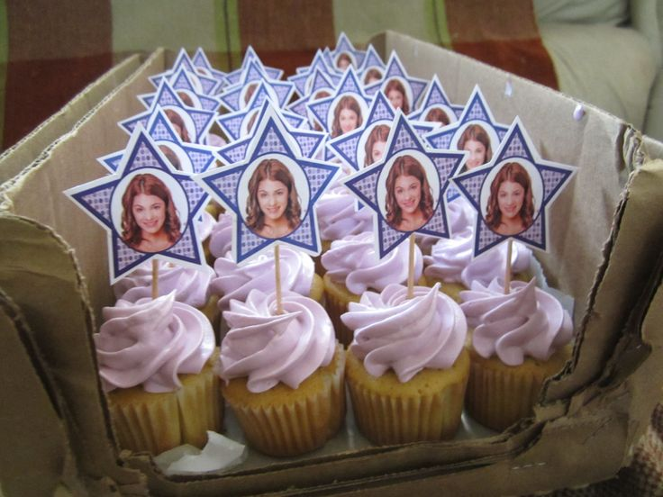 Violetta Disney  Mini Cupcakes /Creaciones Reina Sofia Ciudad Ojeda Zulia Venezuela