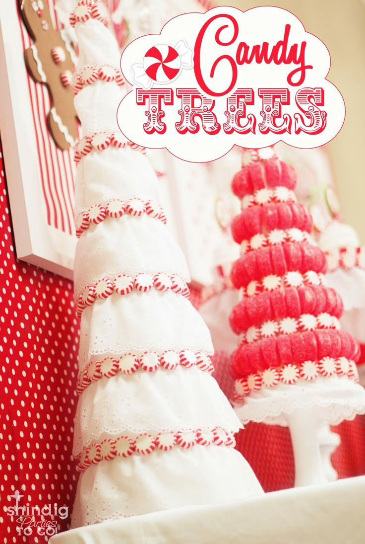 Christmas Candy Trees: Candy Trees, Christmas Crafts, Trees Crafts, Christmas Candy, Trees Tutorials, Christmas Trees Ideas, Christmas Decor, Topiaries, Candy Christmas