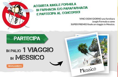 Vinci viaggio in Messico e fornitura Jungle Formula contro le zanzare - http://www.omaggiomania.com/concorsi-a-premi/vinci-viaggio-in-messico-fornitura-jungle-formula-contro-zanzare/