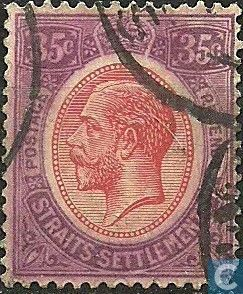 Straits Settlements (British Malaya) - King George V 1931