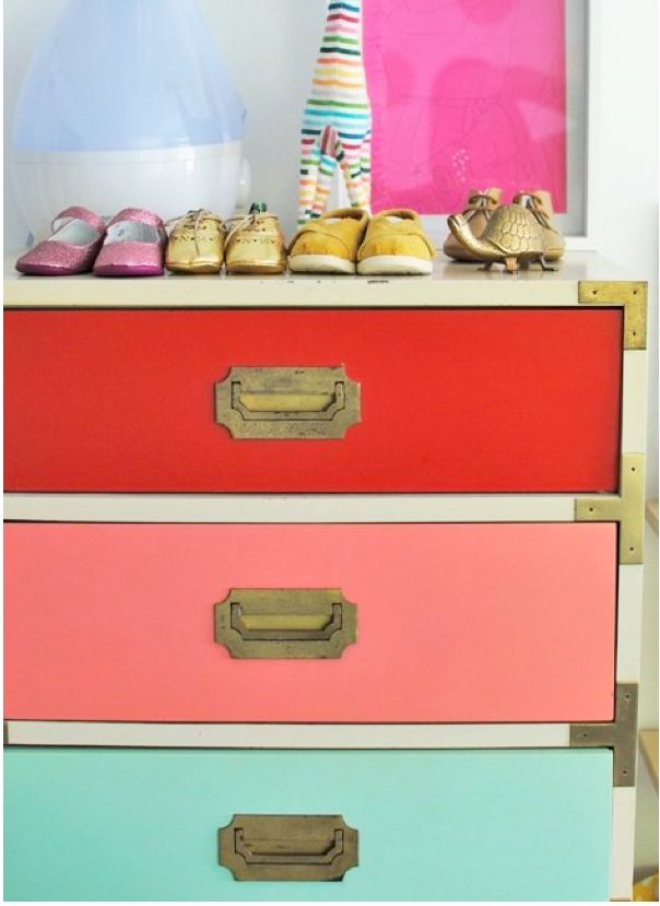 Ikea dresser hacks @ Your Modern Couple (love the giraffe in this one, too!)