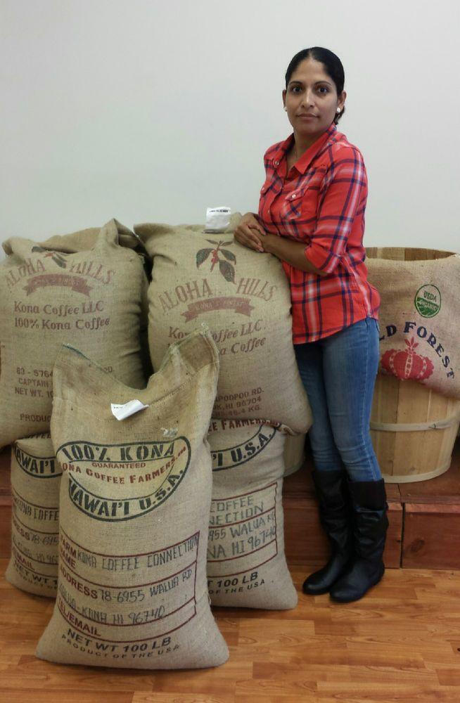 Kona Hawaiian Coffee Beans 100% Authentic Fresh Roasted Whole Beans - Ground 1Lb #OMGCOFFEE