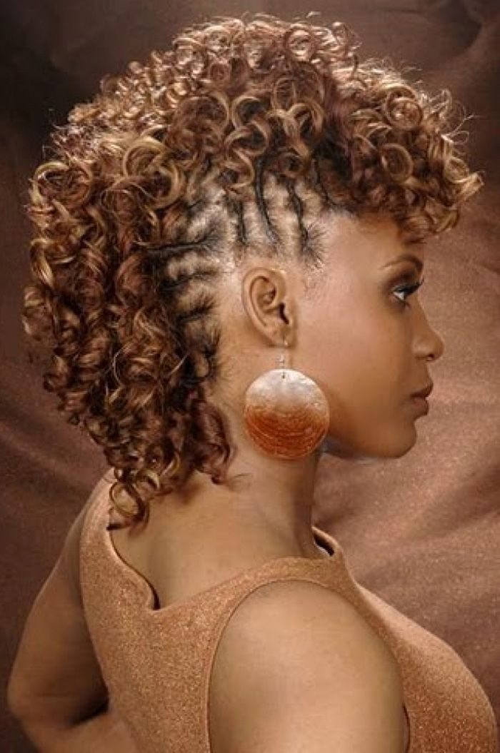 Surprising 1000 Images About Frohawk Hairstyles On Pinterest Black Women Short Hairstyles For Black Women Fulllsitofus