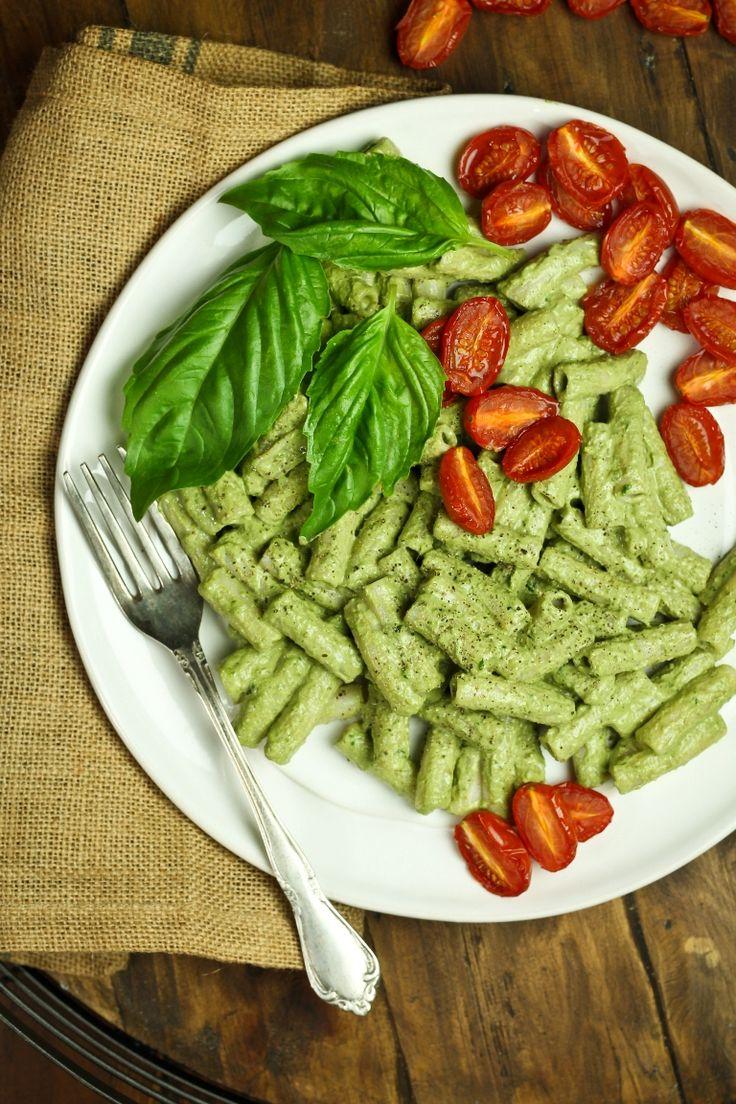 Vegan Penne Pesto | The Vegan 8