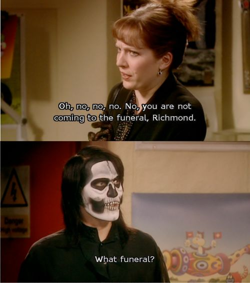 The IT Crowd - Funeral
