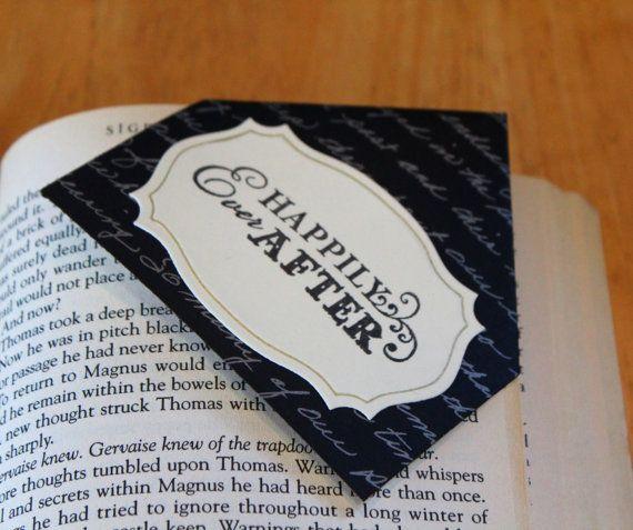Bookmark Happily Ever After Handmade Corner by MrsKristenCreations, $5.50