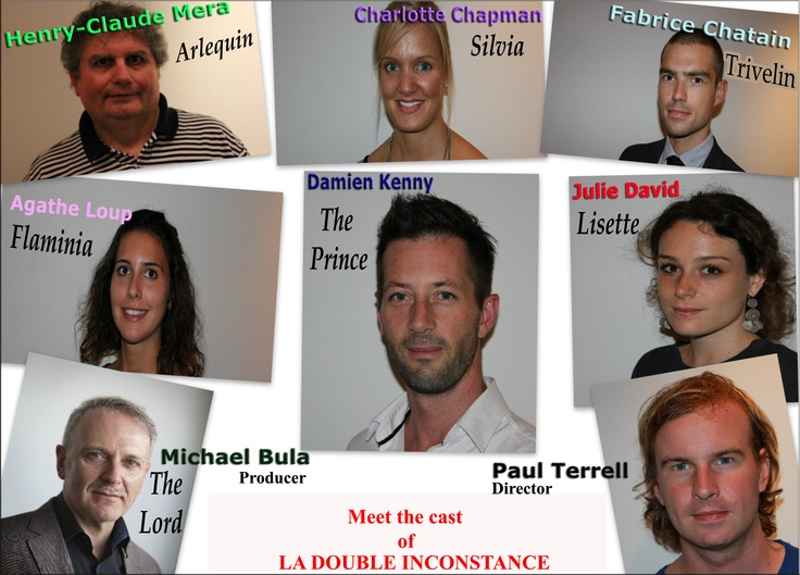 Meet the cast of La Double inconstance!