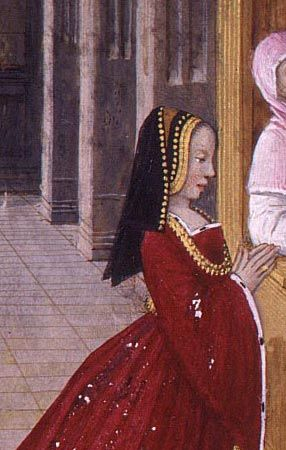 Detail of Anne of Bretagne at Confession https://hemmahoshilde.wordpress.com/2015/09/13/poor-anne-of-brittany-lost-all-the-kids-she-had-with-charles-viii/ <-- You're welcome to read more about Anne of Brittany on my blog :).