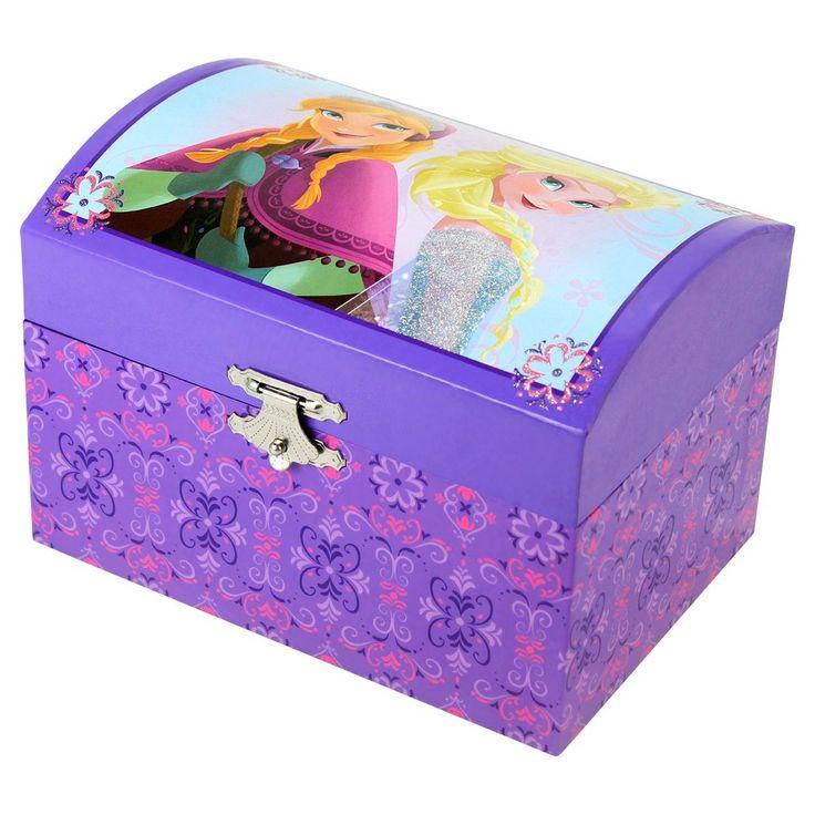 Frozen Jewelry Box, Purple/Pink/Blue