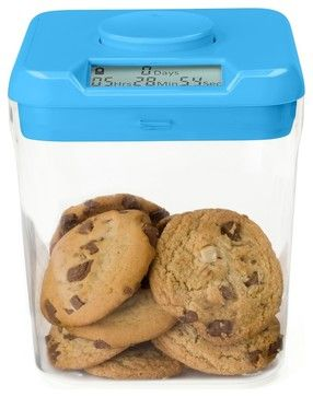 Kitchen Safe Time-Locking Container- for those of you who CAN'T keep your hands out of the cookie jar!
