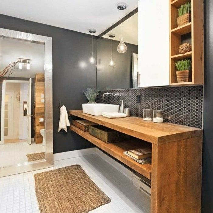 Les 25 meilleures id es de la cat gorie armoire de for Toilette dans la salle de bain