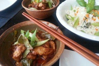 Kai panang ( Thaise kip in pindacurry)