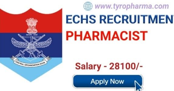 Echs Pharmacist Recruitment 2018 Pharmacist Job At Ex Servicemen