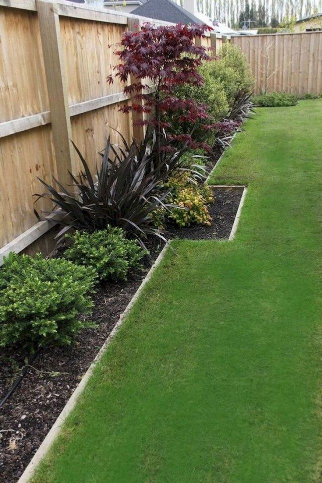 70 Simple Backyard Landscaping Ideas On A Budget 2019 Budget Landscaping Small Garden Design Fence Landscaping