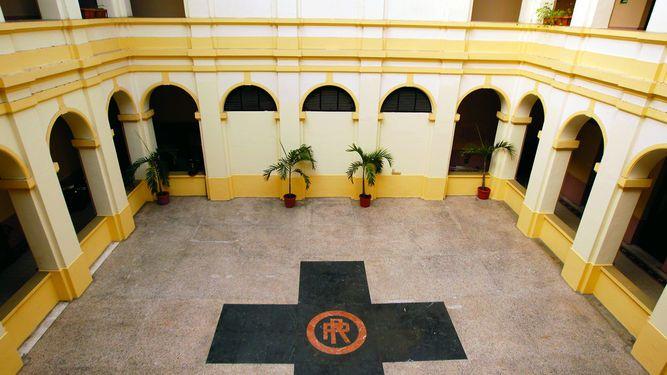 Patio central del Palacio de Gobierno