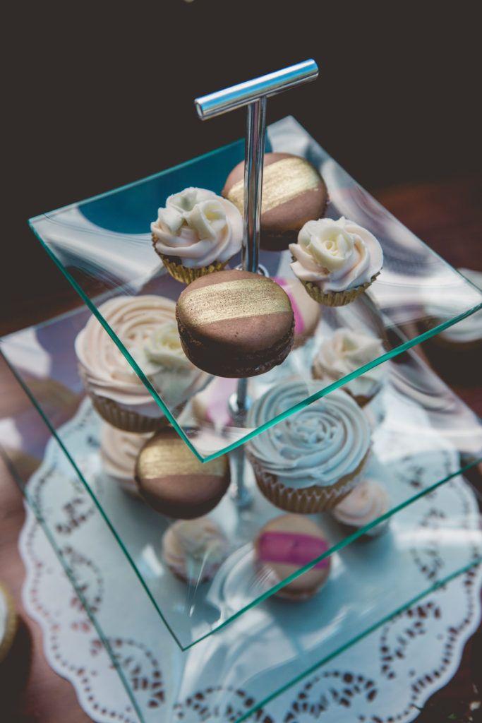 macaron treats styled bridal tea party editorial photoshoot