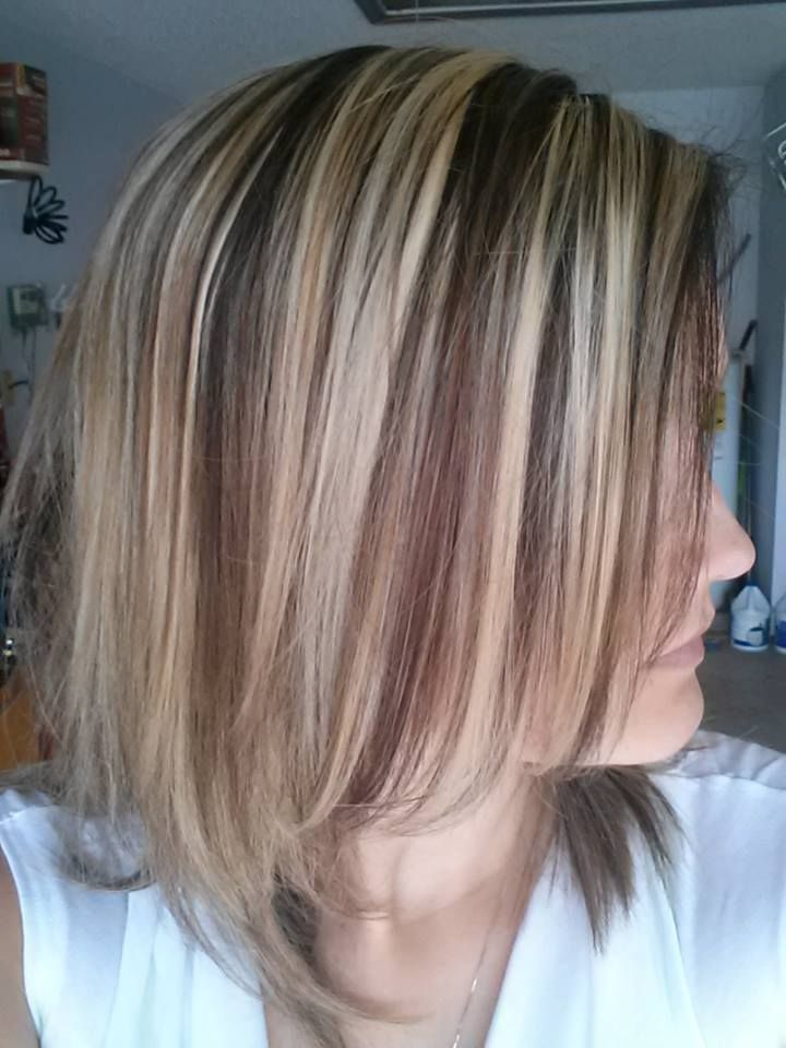 Natural Copper Blond Brown Amp Toffee Highlights Lowlights