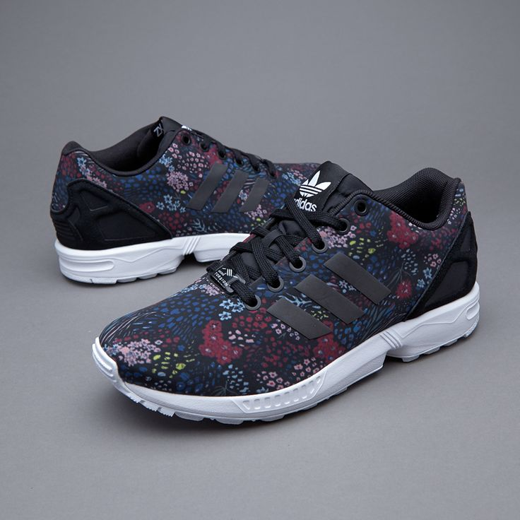 adidas Originals Womens ZX Flux - Core Black