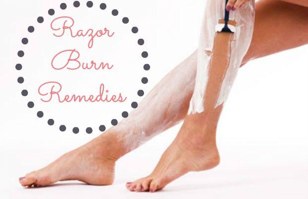 Bikini razor burn remedies never