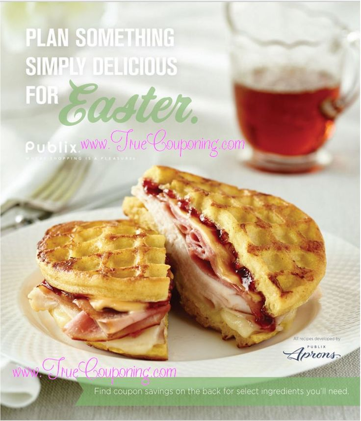 "Look for this new Coupon Booklet called ""Plan Something Simply Delicious for Easter"" in your Sunday inserts & available to print now! It has Publix Store Coupons that expire 3/26/16."
