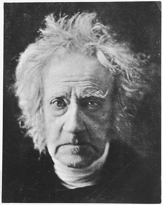Sir John Herschel, inventor of the cyanotype and the blueprint (the first form of photocopying)