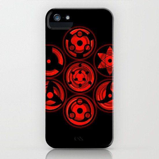 Sasuke Uchiha - Sharingans iphone case, smartphone - Balicase