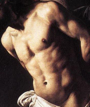 Michelangelo Merisi da Caravaggio (1571-1610) Flagellation of Christ, 1607 (detail)
