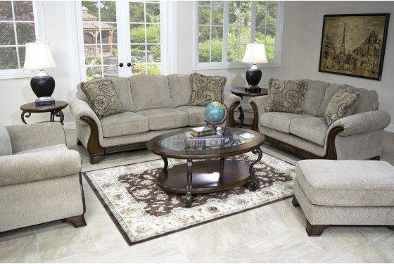 Lanett living room mor furniture for less house for Living room furniture for less