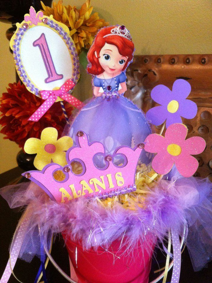 1000+ images about Sofia The First Centerpiece Ideas on ...