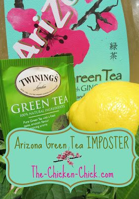 ARIZONA GREEN TEA WITH HONEY & GINSENG IMPOSTER RECIPE Makes One Gallon