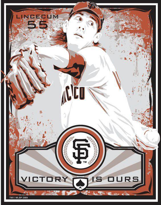 Tim Lincecum   San Francisco Giants Baseball by SportsPropaganda, $50.00