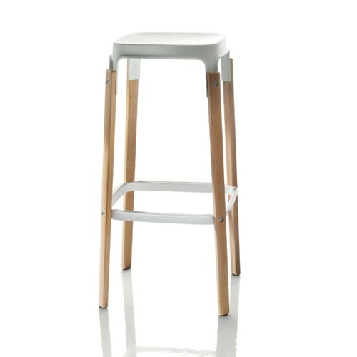 Magis - Steelwood Stool - moffice.dk #træmøbler #barstol #design