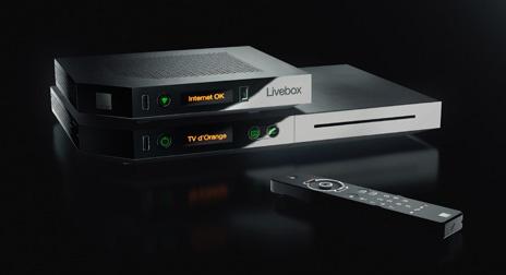 Livebox Play, décodeur et télécommande - Livebox Play #liveboxplay