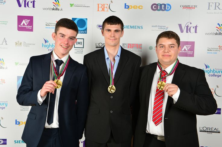 Patrick Devanney, Chris Renwick, Dominic Trees - Manufacturing Team Challenge Gold