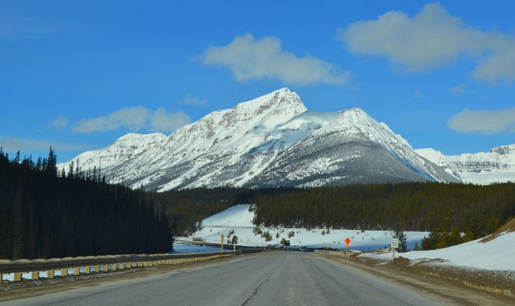 Stunning vistas on route 1A from Golden BC to Banff Alberta.