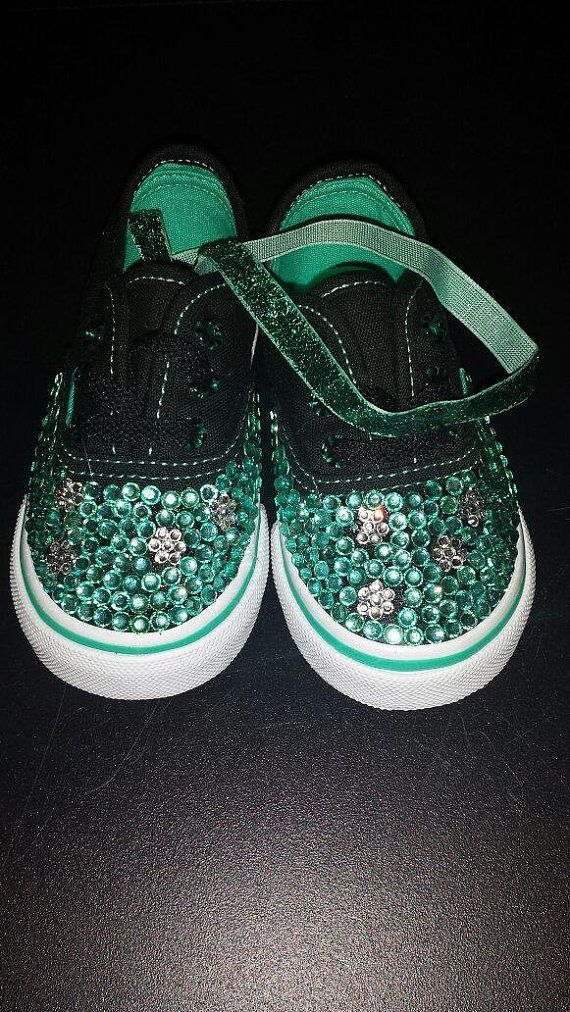 Teal Vans by thingsprettied on Etsy