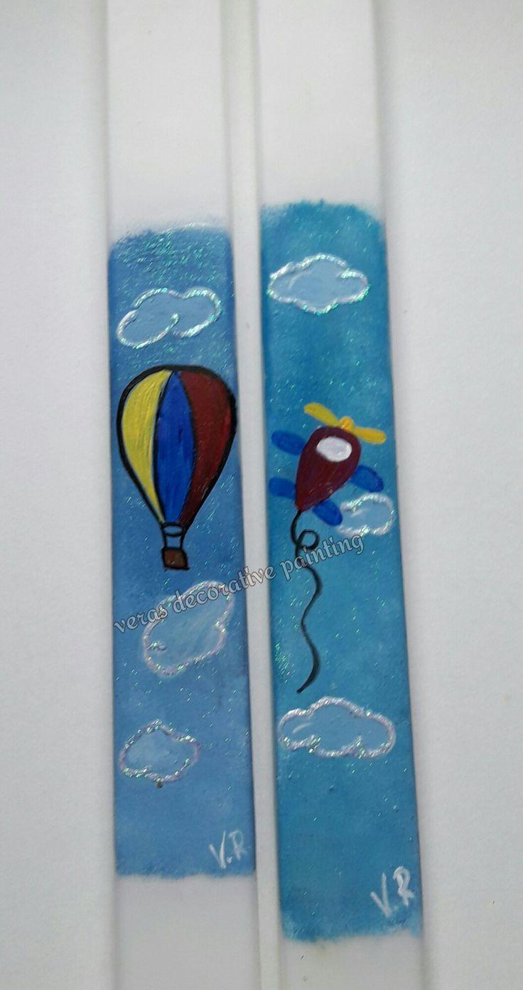 Πασχαλινές ζωγραφισμένες λαμπάδες