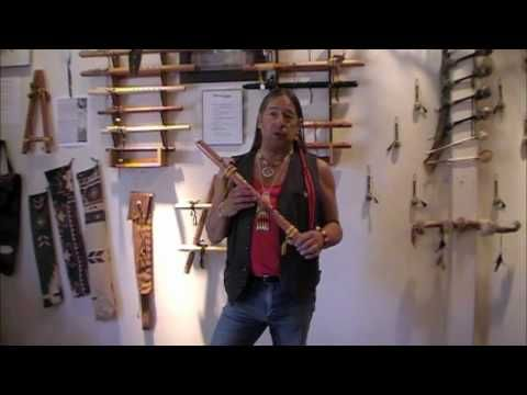 Learning the Native Flute - Lesson One - The Scale. These five quick lessons bring some fun fingering techniques to add to your playing skills.