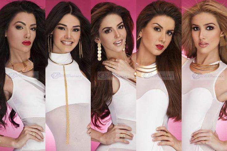 Miss Venezuela 2015 Mid Length and Close Up Glam Shots