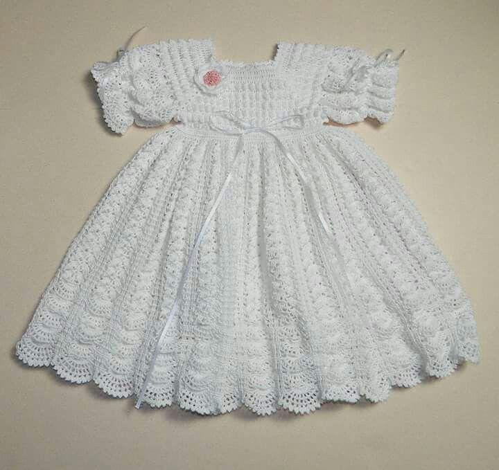 Mejores 84 imágenes de vestidos crochet en Pinterest   Patrones de ...