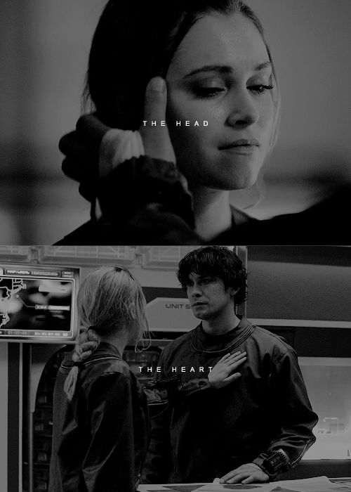Clarke Griffin and Bellamy Blake || The 100 || Bellarke || Bob Morley and Eliza Jane Taylor http://www.rencontres-rondes.com/?siteid=1713452